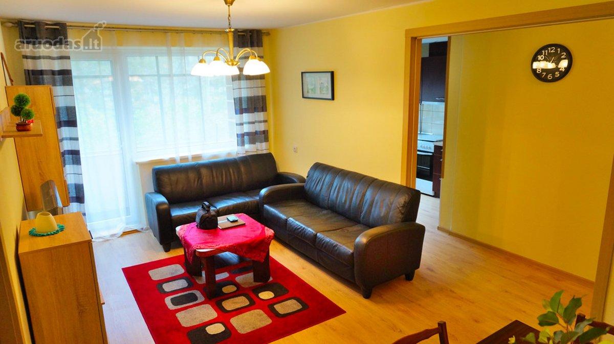 Vilnius, Antakalnis, P. Vileišio g., 2 kambarių buto nuoma