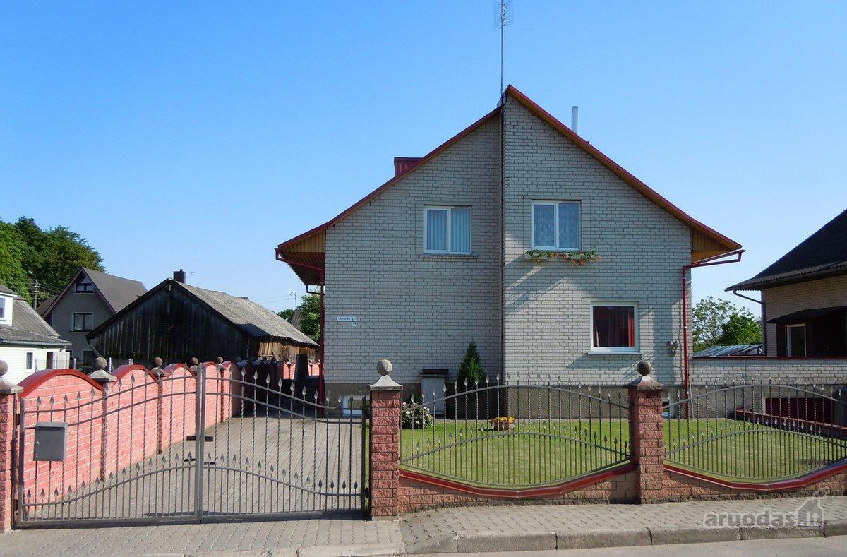 Jurbarko m., Imsrės g., mūrinis namas