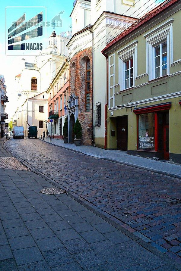 Vilnius, Senamiestis, Dominikonų g., biuro, prekybinės, paslaugų, maitinimo, kita paskirties patalpos nuomai