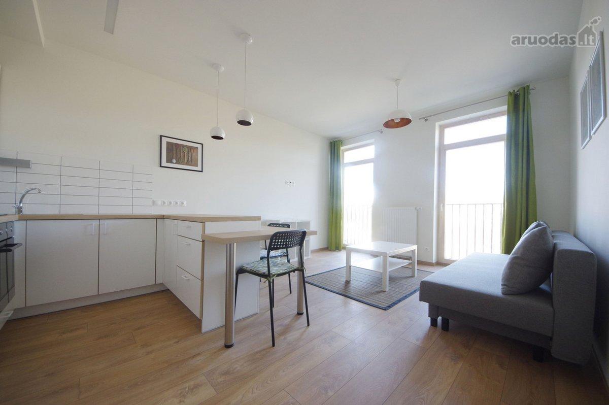 Vilnius, Užupis, Krivūlės g., 2 kambarių buto nuoma
