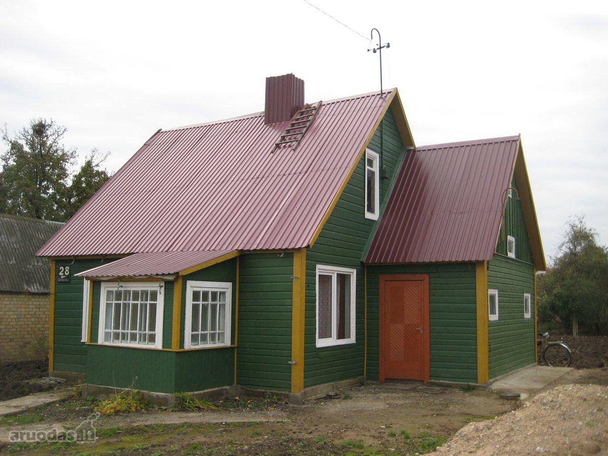 Šiauliai, Žaliūkiai, Ragainės g., rąstinis namas