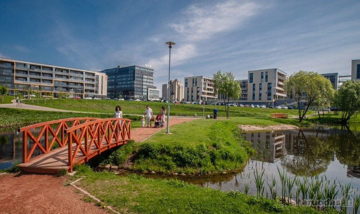 Vilnius, Žirmūnai, Kazio Ulvydo g., 2 kambarių butas
