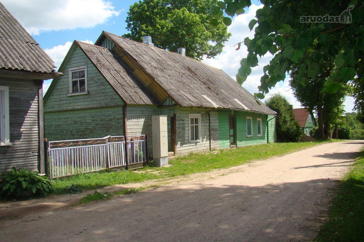 Mažeikių r. sav., Sedos m., Kaštonų g., Деревянный дом