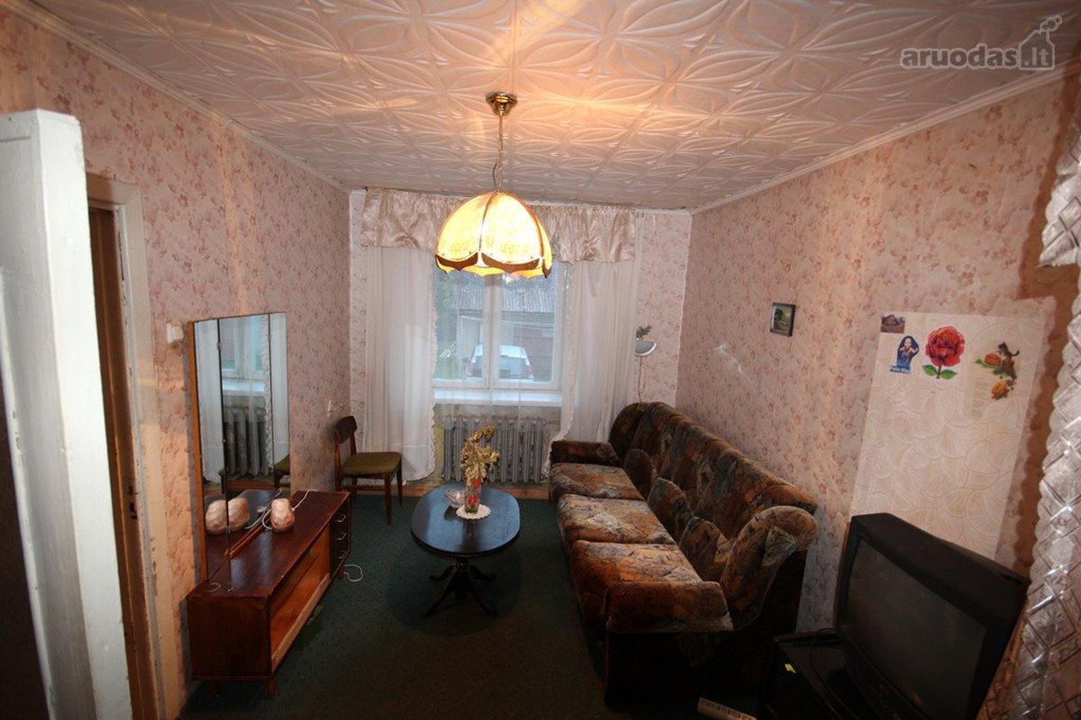 Plungės m., Stoties g., 2 kambarių butas