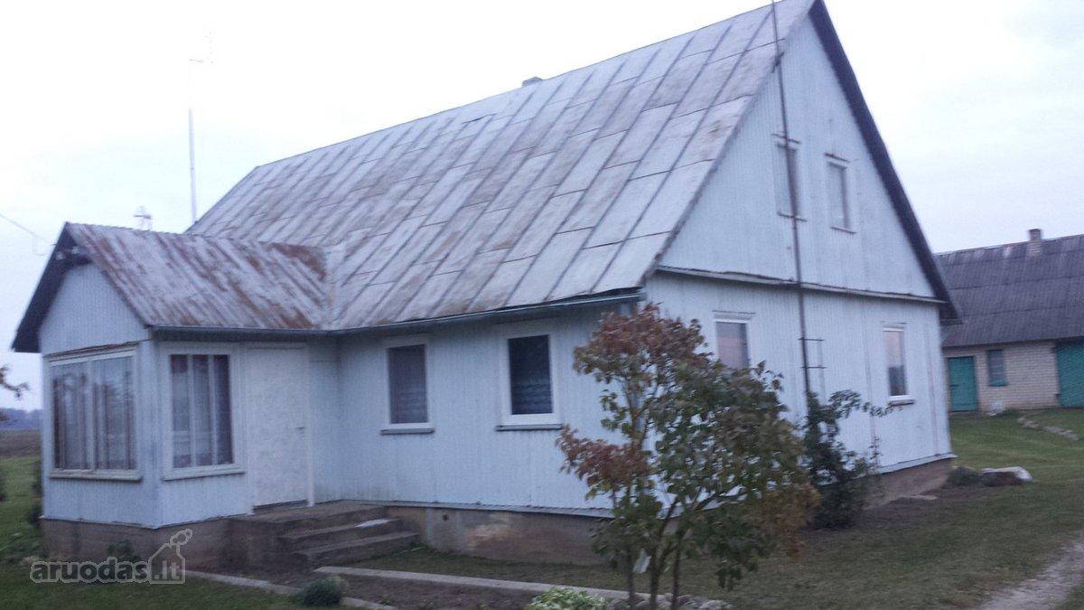 Pasvalio r. sav., Titkonių k., medinė sodyba
