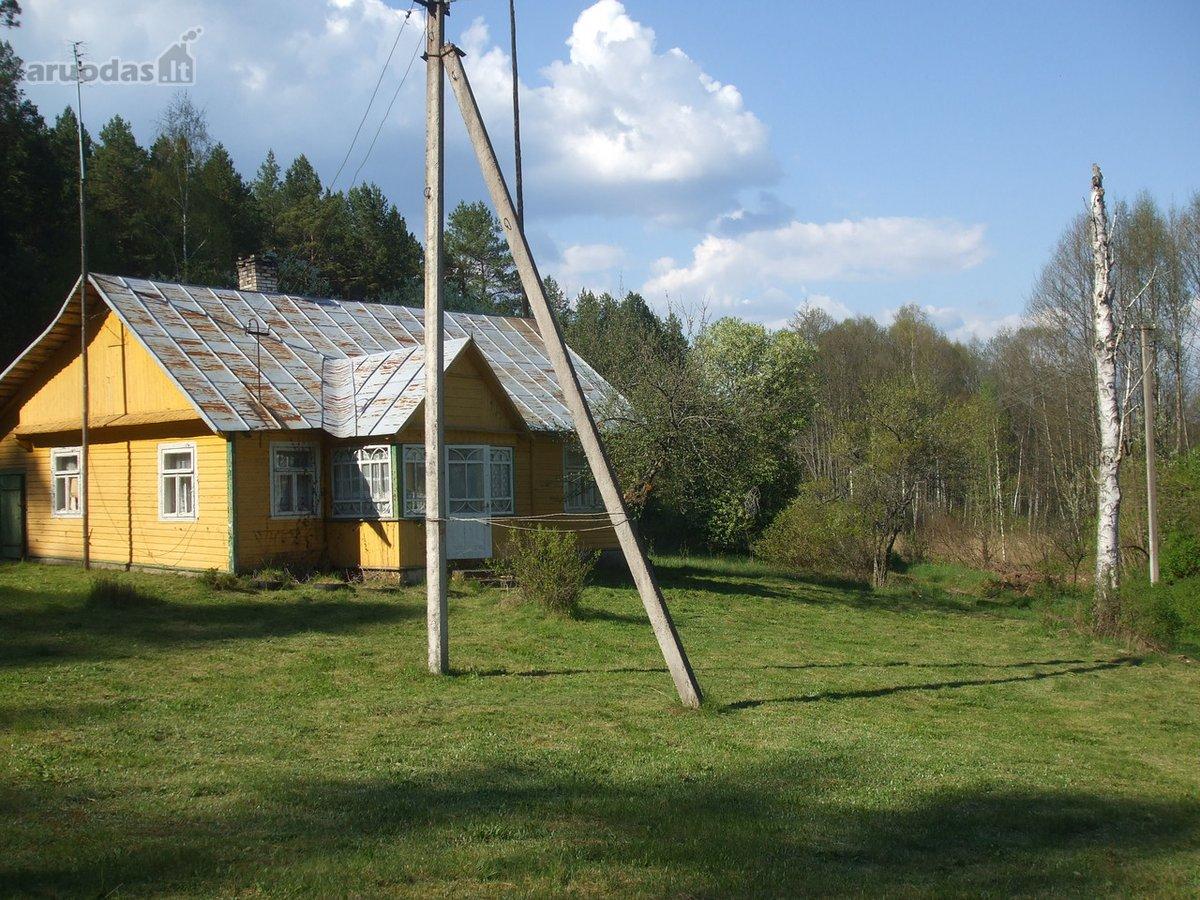 Varėnos r. sav., Kapiniškių k., Sodžiaus g., medinis namas