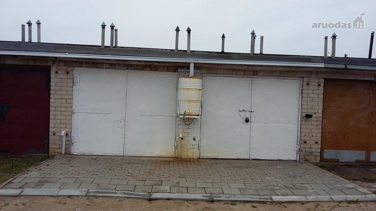 Šiauliai, Zokniai, Radviliškio g., mūrinis garažas