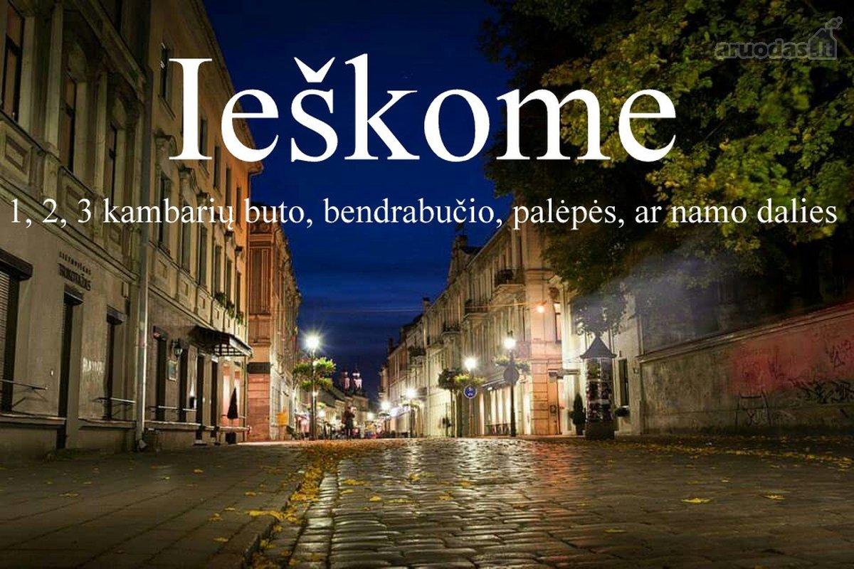 Kaunas, ieško buto