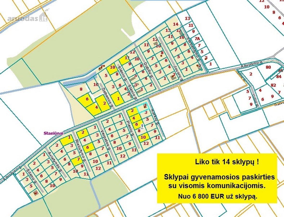 Kaišiadorių r. sav., Kaišiadorių m., namų valdos paskirties sklypas