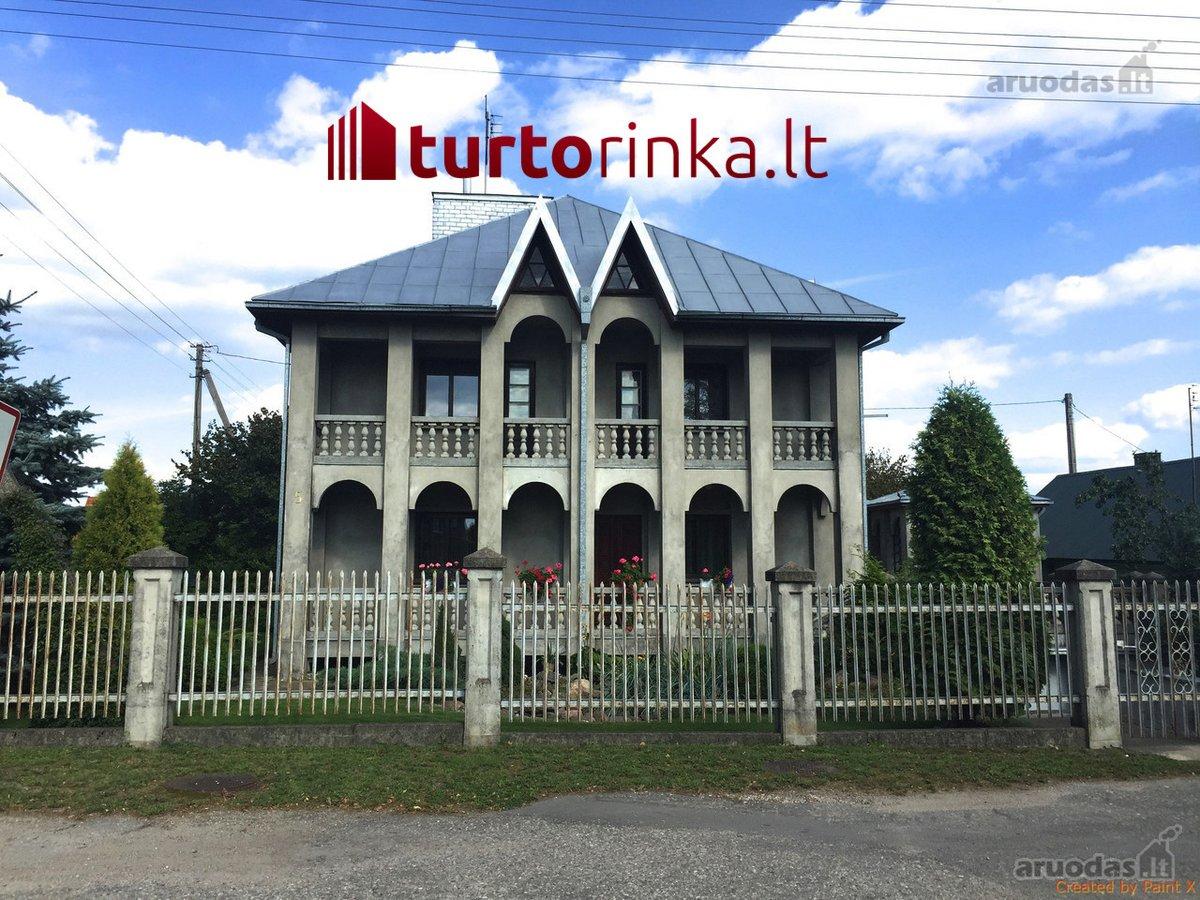 Kėdainių r. sav., Dotnuvos mstl., Dotnuvėlės g., mūrinis namas