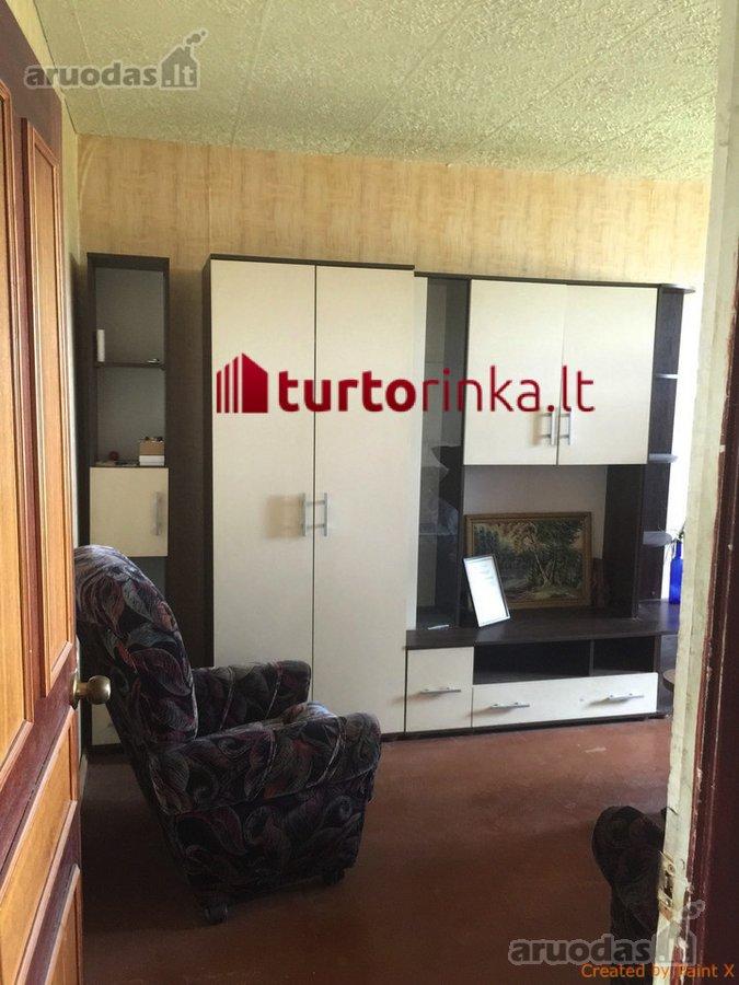 Kėdainių r. sav., Kėdainių m., Liaudies g., 2 kambarių butas