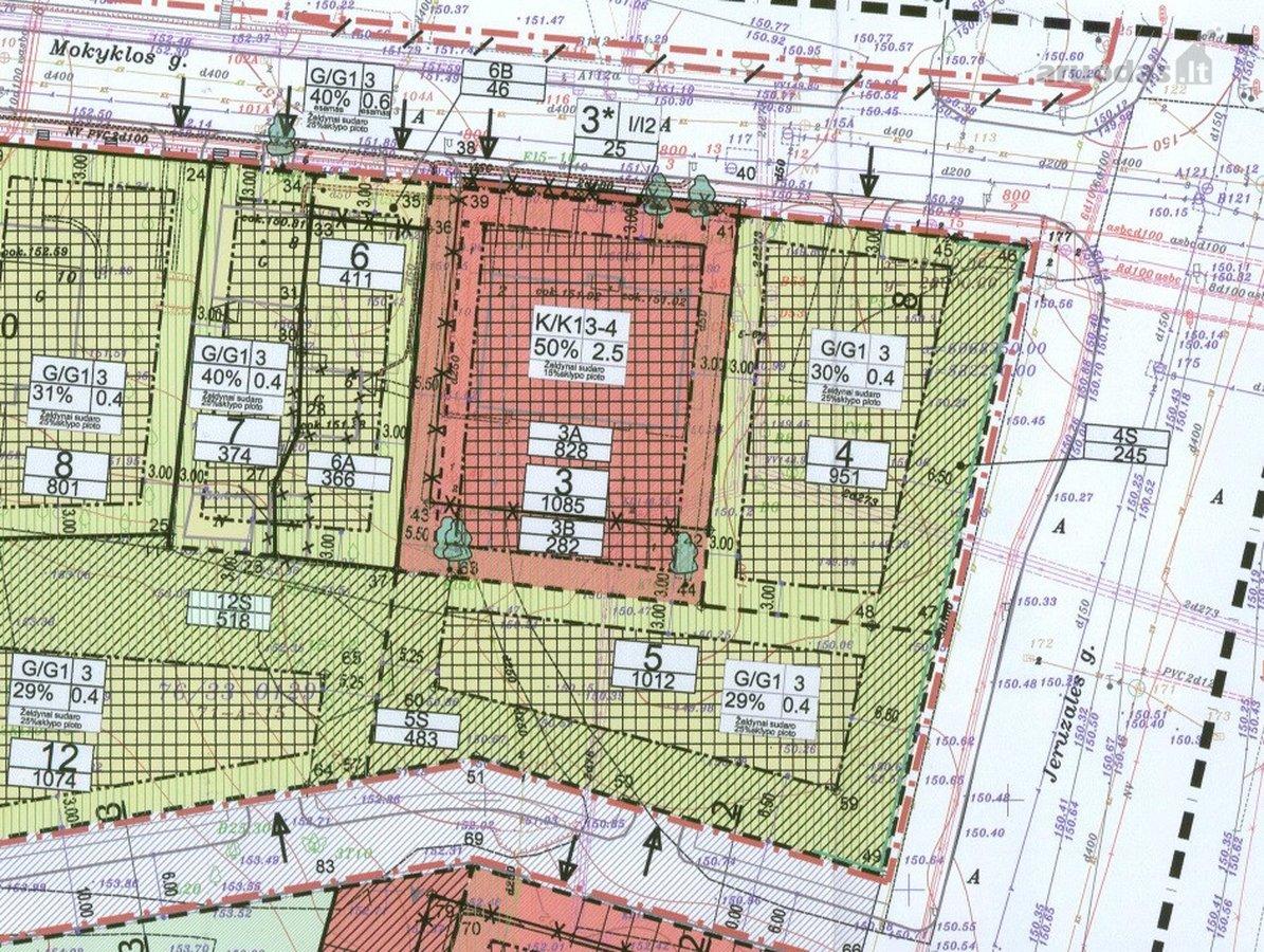 Vilnius, Jeruzalė, Mokyklos g., komercinės paskirties sklypas