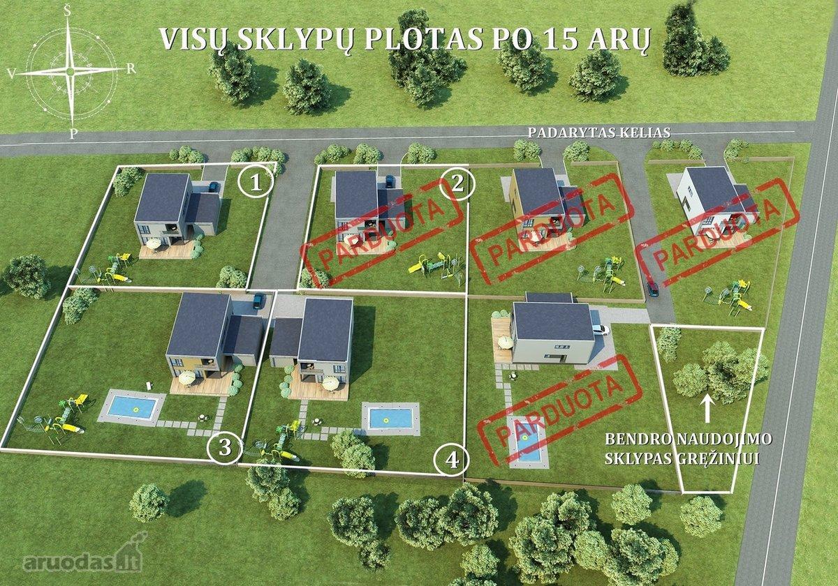 Vilniaus r. sav., Avižienių k., namų valdos paskirties sklypas