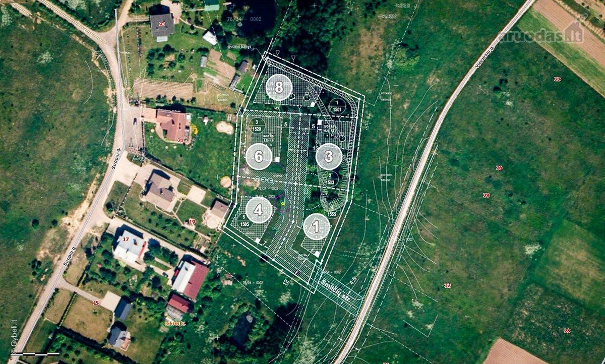 Vilnius, Didžioji Riešė, Vieversių g., namų valdos paskirties sklypas