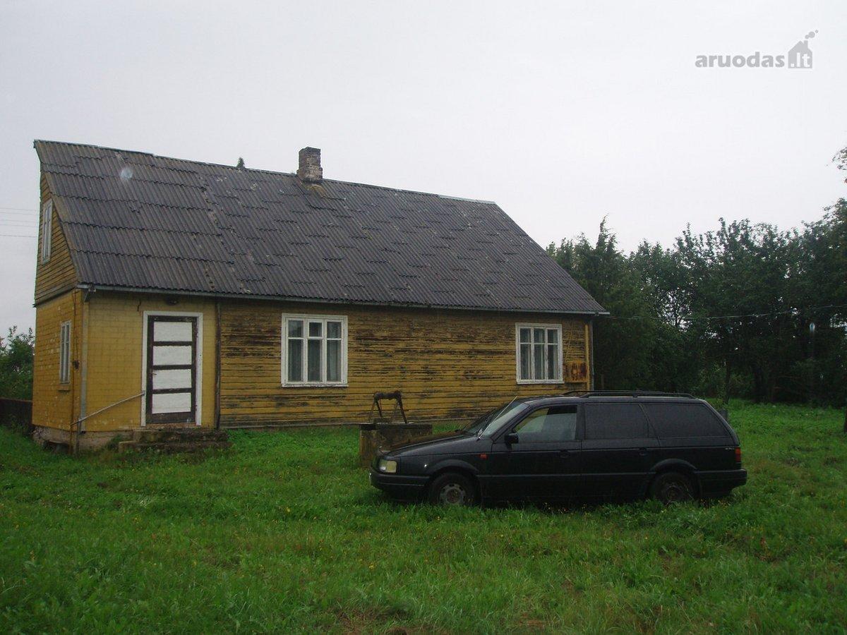 Kalvarijos sav., Kvietkinės k., Tremtinių g., medinė sodyba