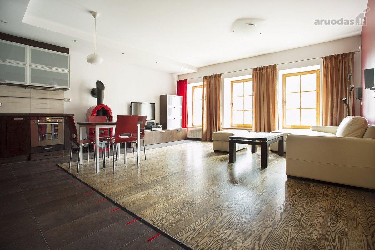 Vilnius, Užupis, Užupio g., 3 kambarių buto nuoma