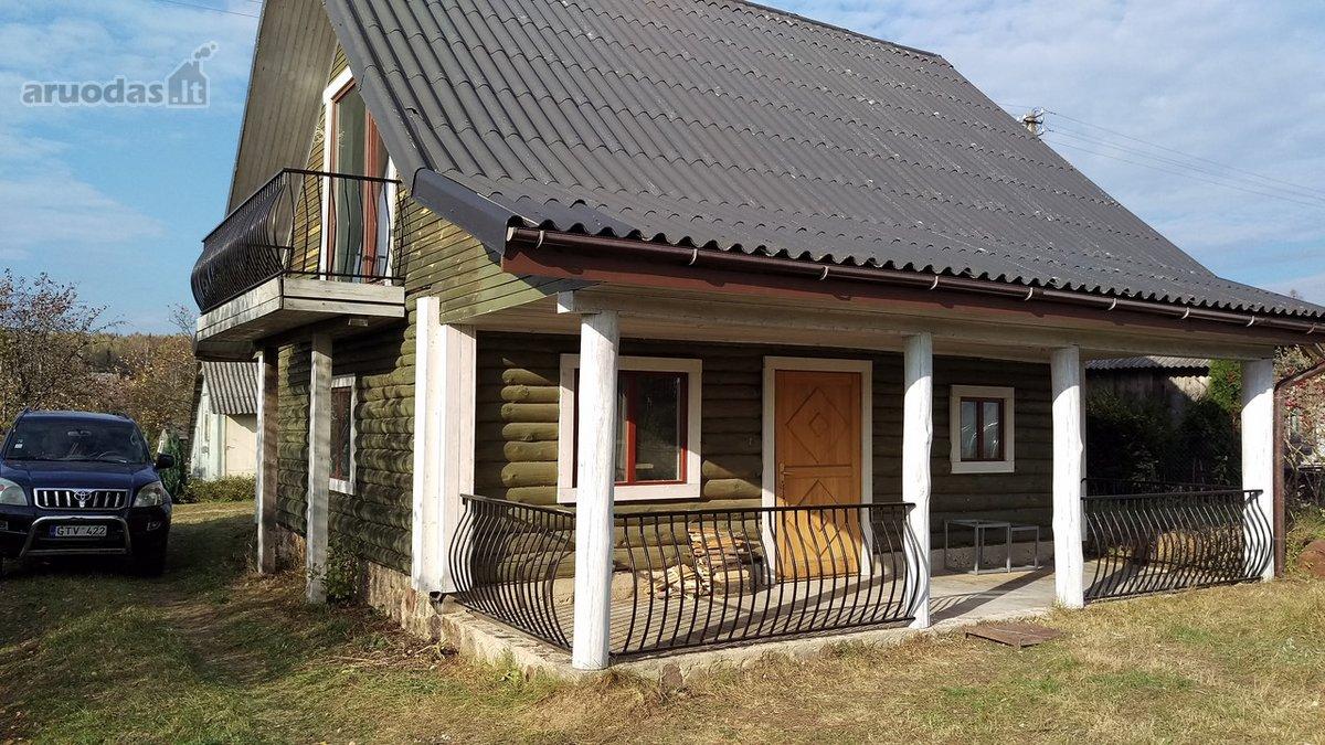 Vilniaus r. sav., Akmeniškių k., Azalijų 1-oji g., rąstinis namas