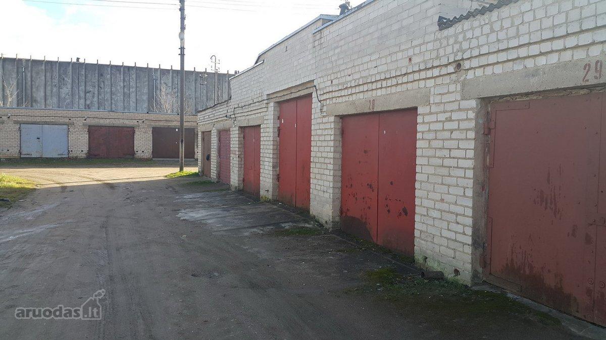 Mažeikių m., Laisvės g., mūrinis garažo nuoma