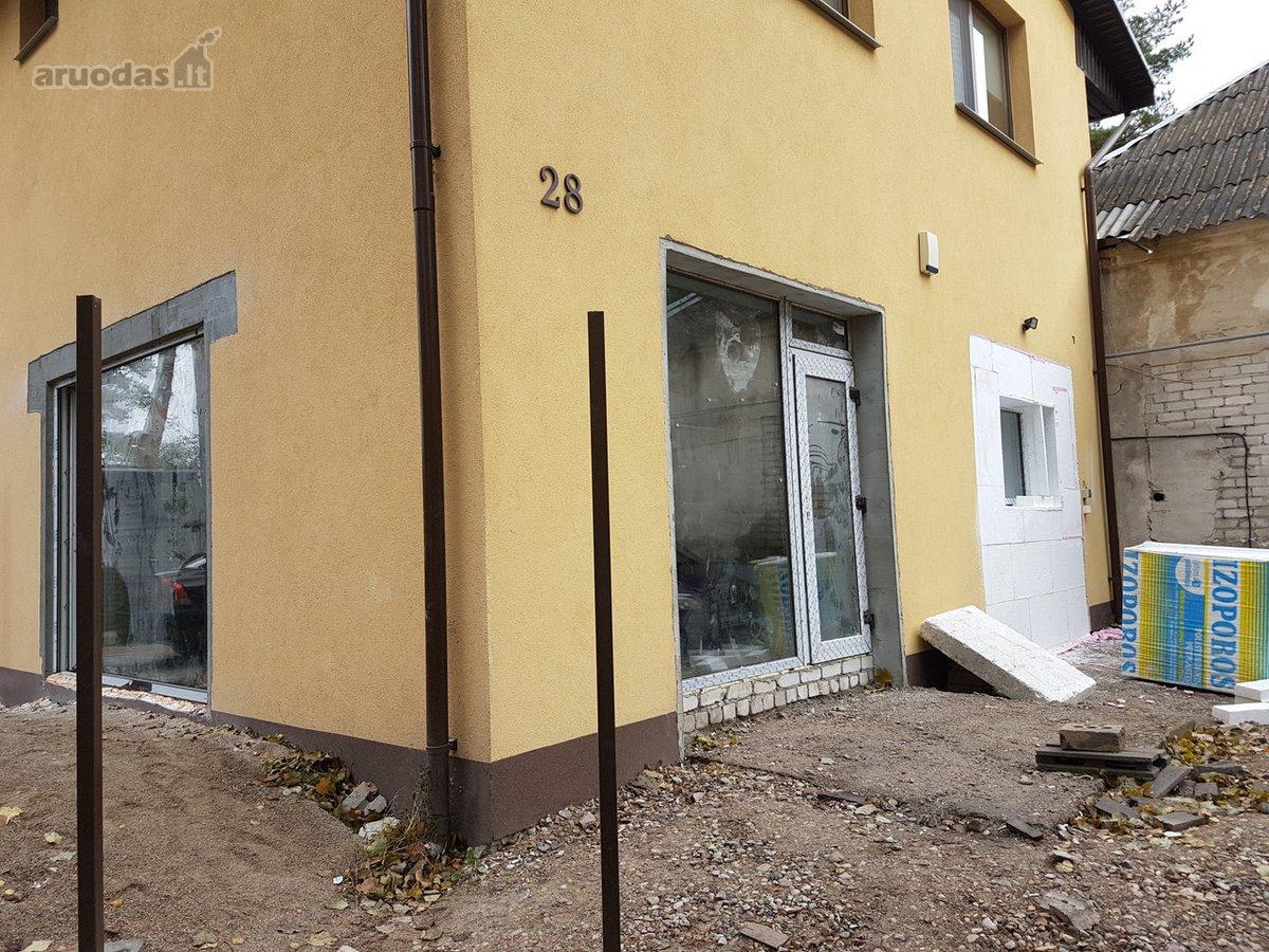 Kaunas, Romainiai, Medekšinės g., mūrinis sublokuotas namas