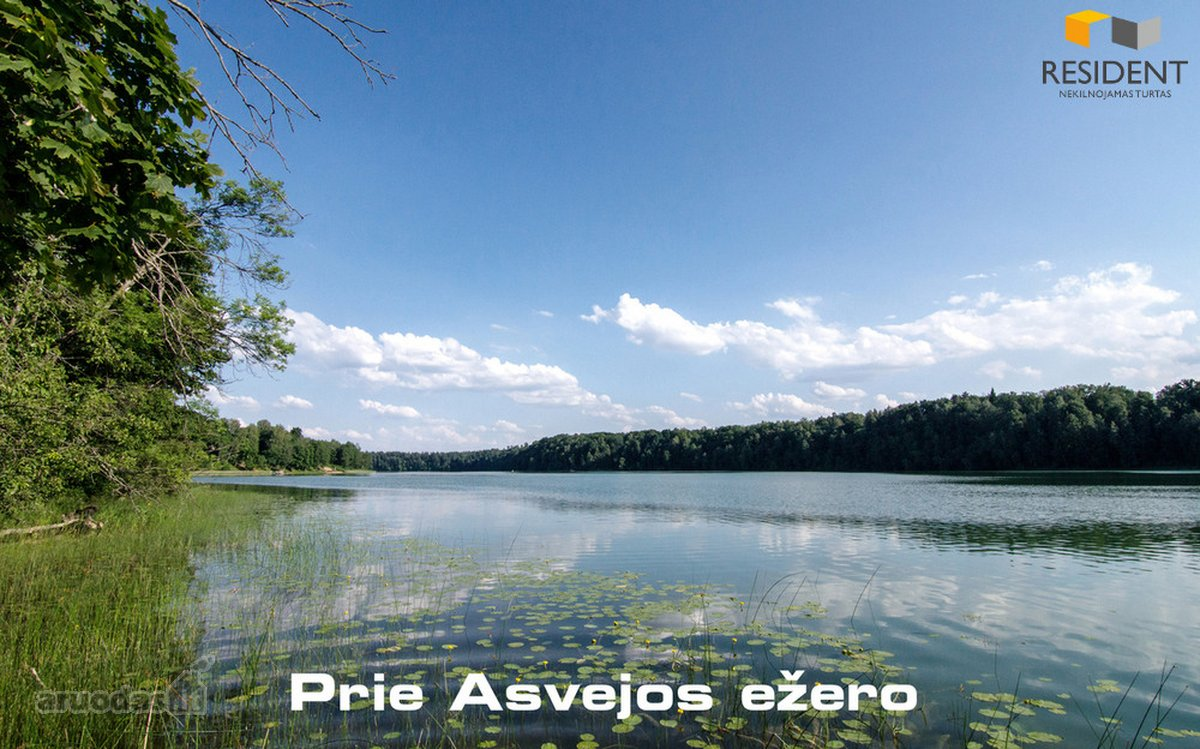 Parduodama sodyba ant Asvejos ežero kranto.