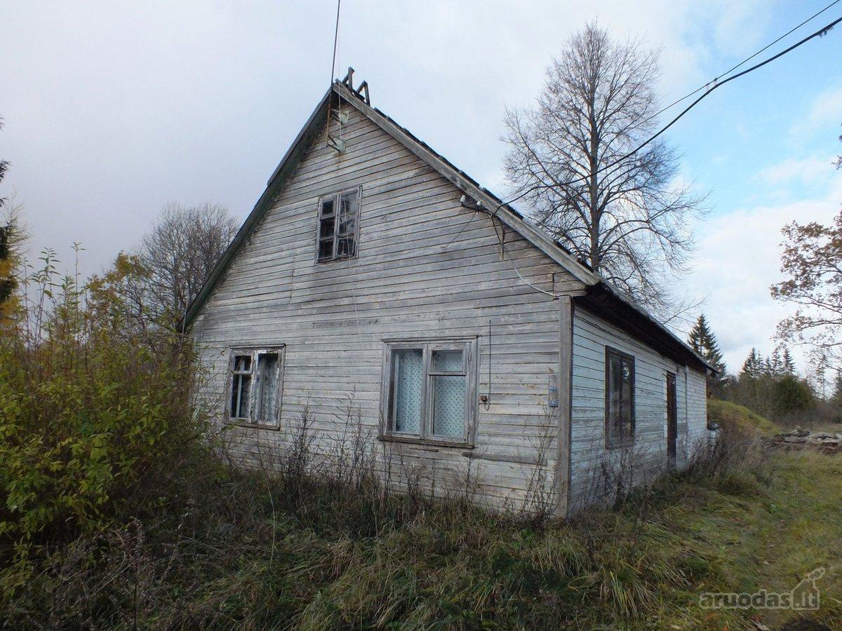 Biržų r. sav., Balzieriškio k., rąstinis namas