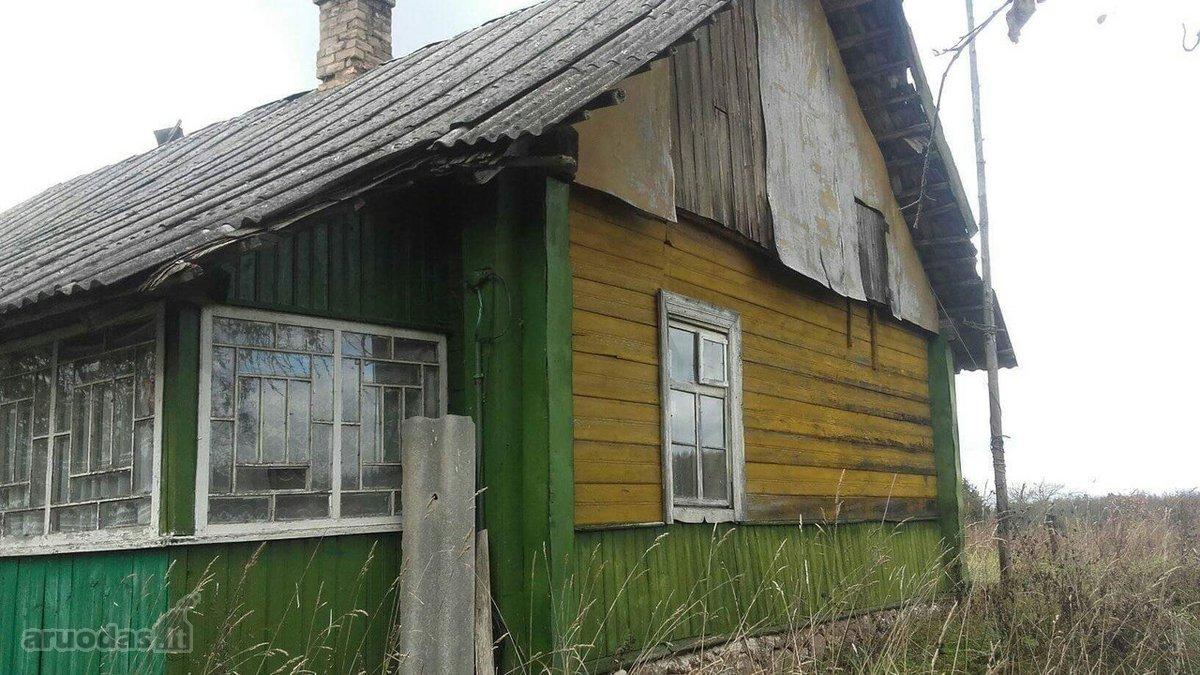 Vilniaus r. sav., Dvyliškio k., medinis namas
