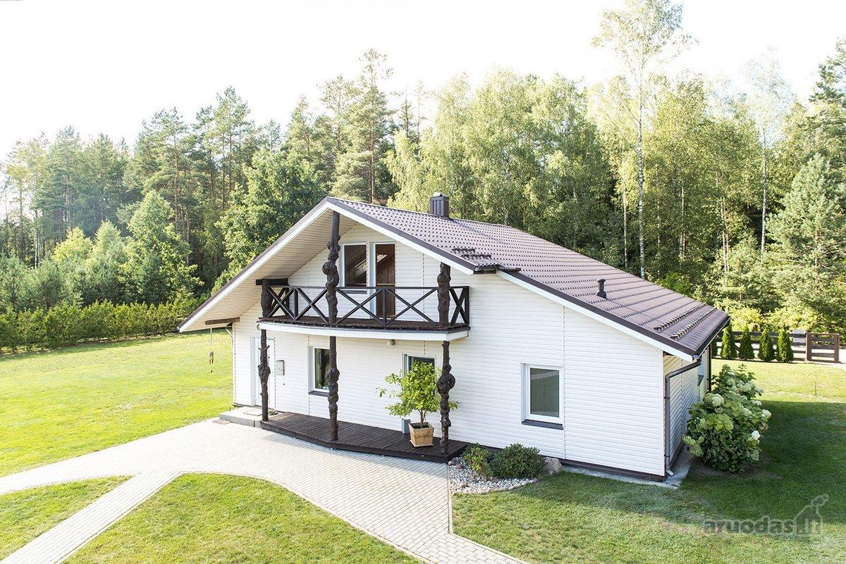 Druskininkų sav., Timakavo k., karkasinis namas