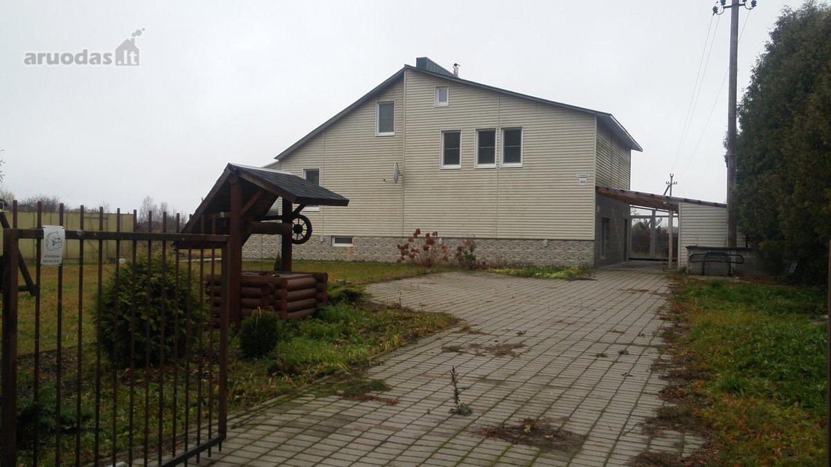 Vilniaus r. sav., Pikeliškių k., Versmės 1-oji g., karkasinis namas