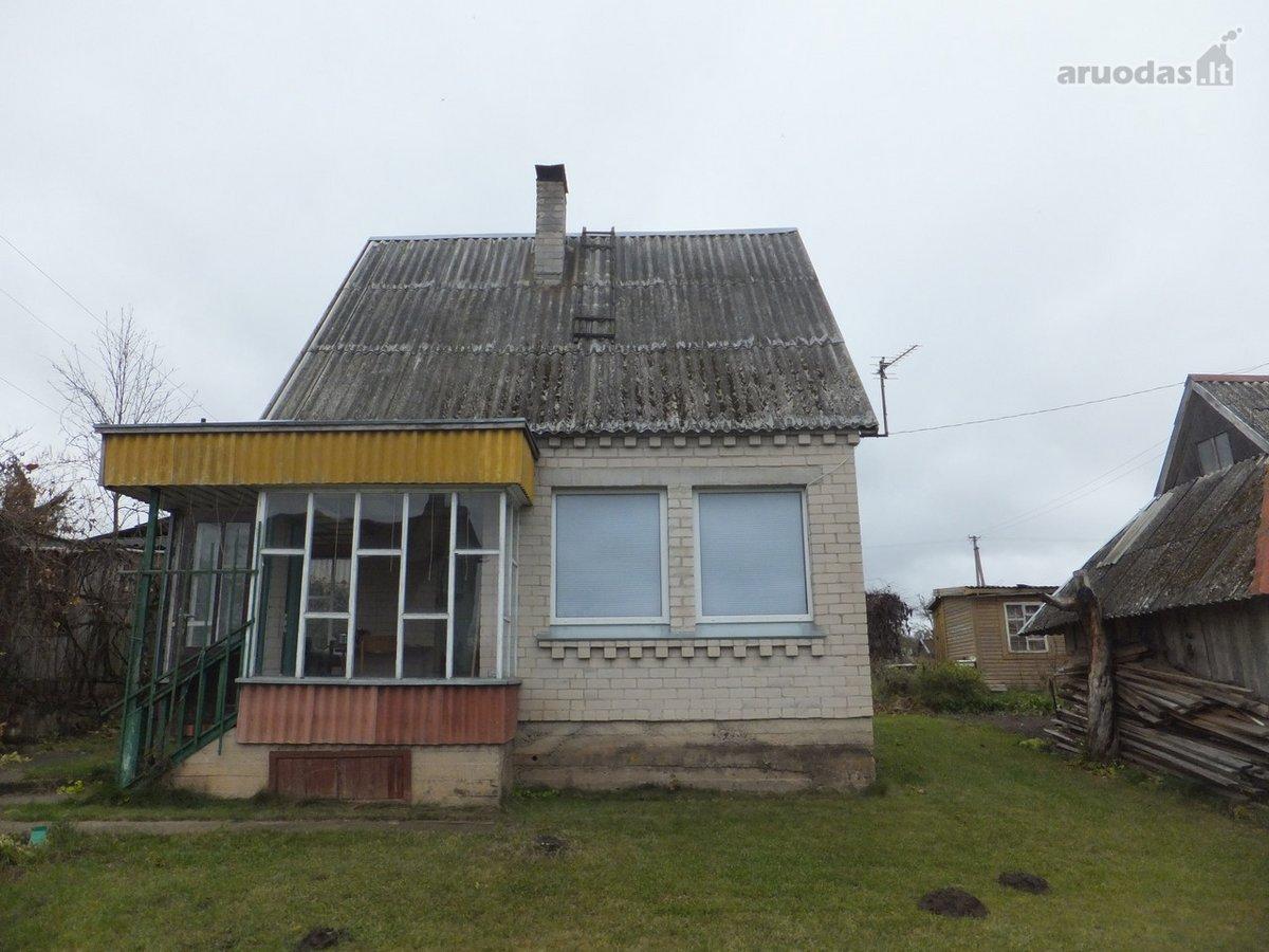 Ukmergės m., Serbentų g., mūrinis sodo namas