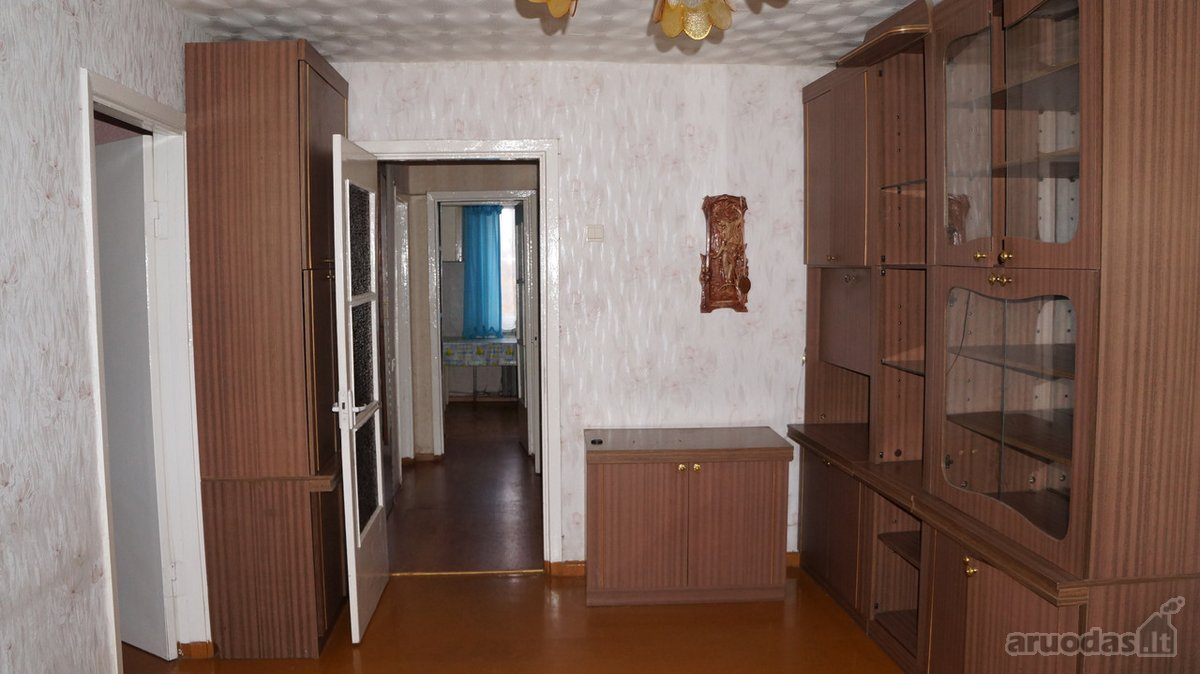 Mažeikių r. sav., Mažeikių m., Ventos g., 3 kambarių butas
