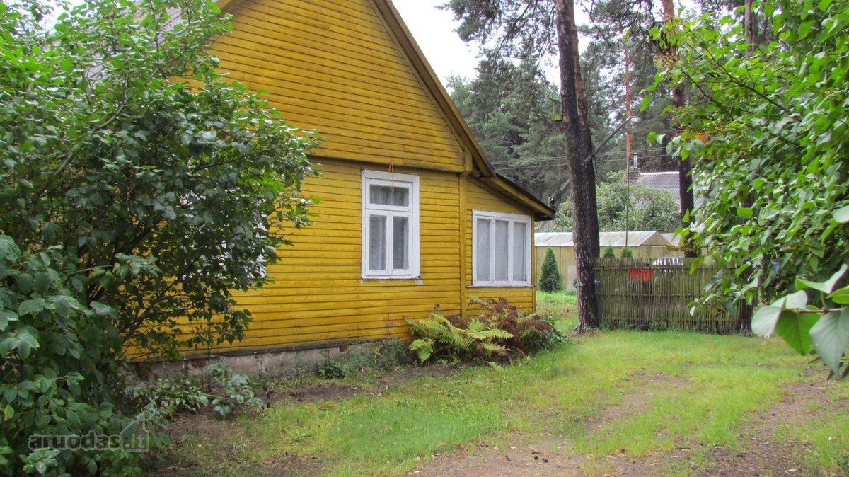 Kazlų Rūdos m., Dariaus ir Girėno g., medinis namas