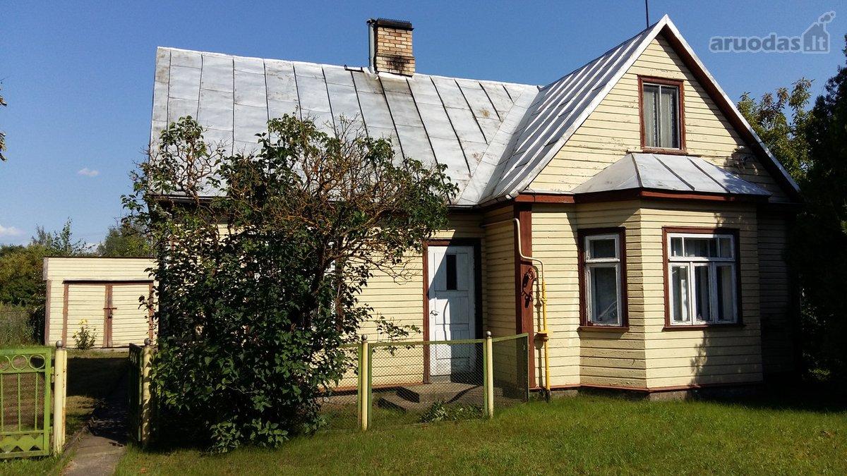 Panevėžys, Centras, Ramygalos g., medinis namas