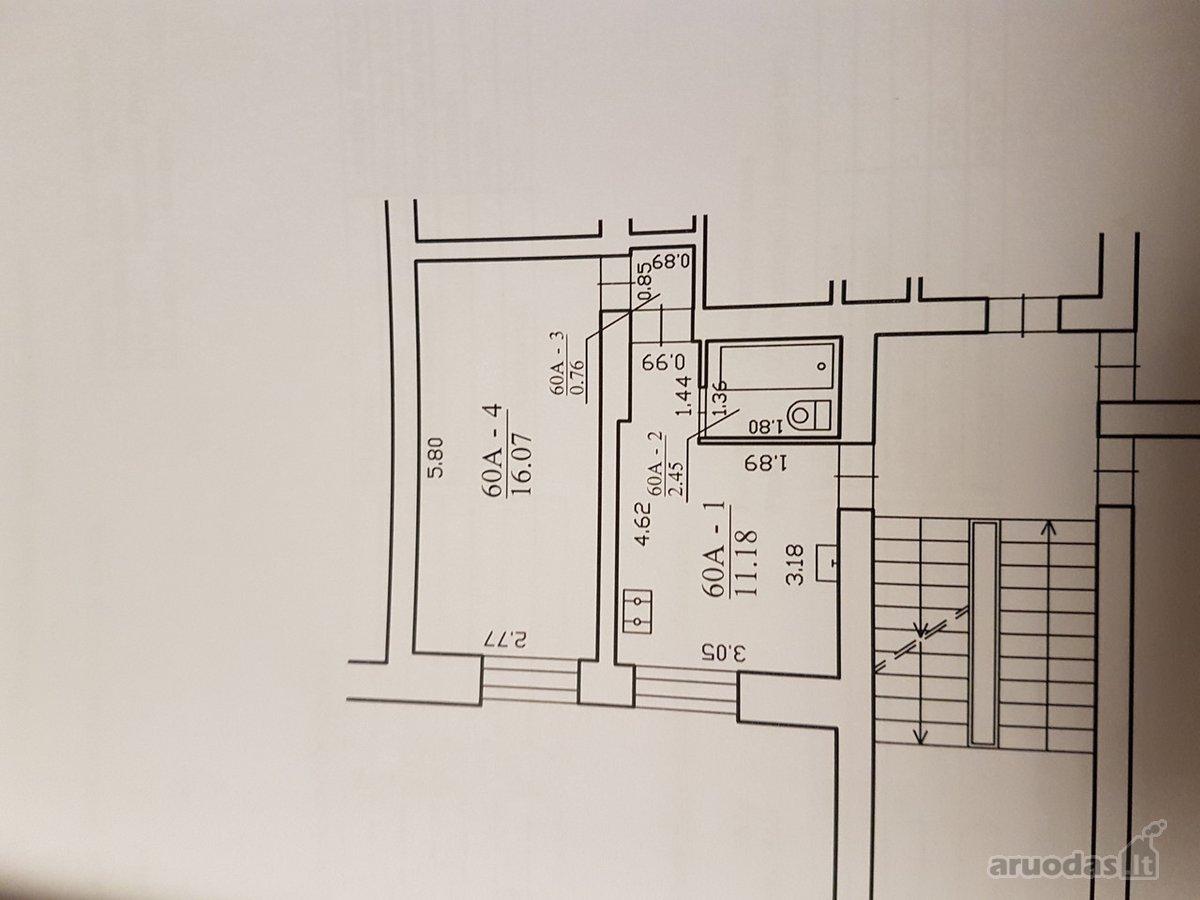 Kretingos r. sav., Kretingos m., Žalioji g., 1 kambario butas