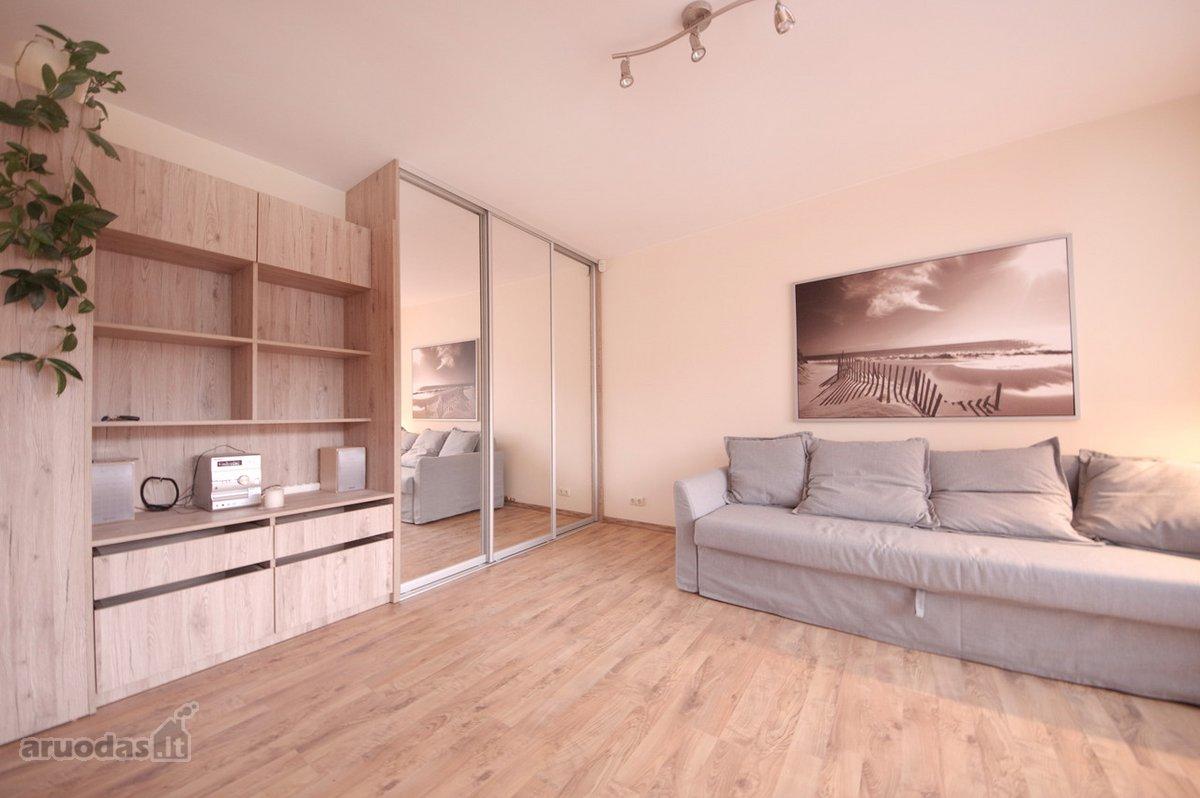 Vilnius, Antakalnis, M. K. Oginskio g., 1 kambario buto nuoma