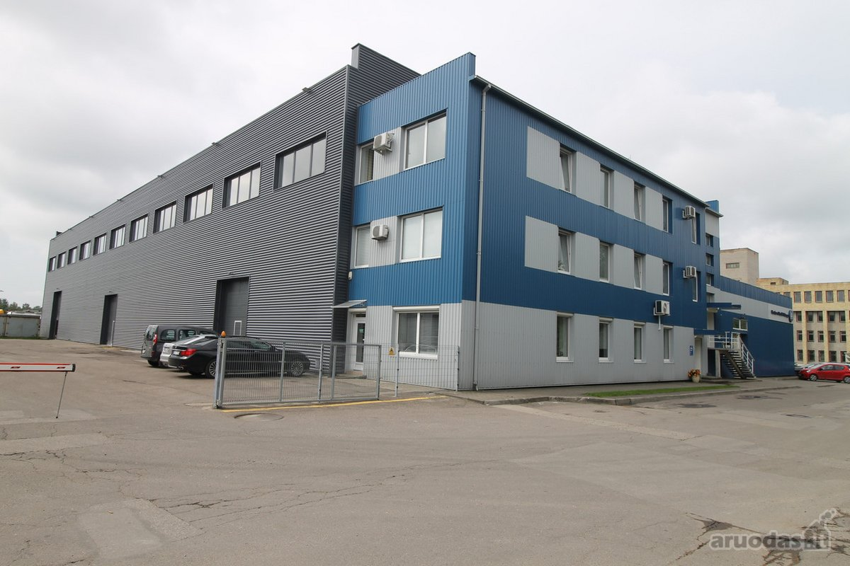 Kaunas, Dainava, Ateities pl., sandėliavimo, gamybinės paskirties patalpos nuomai