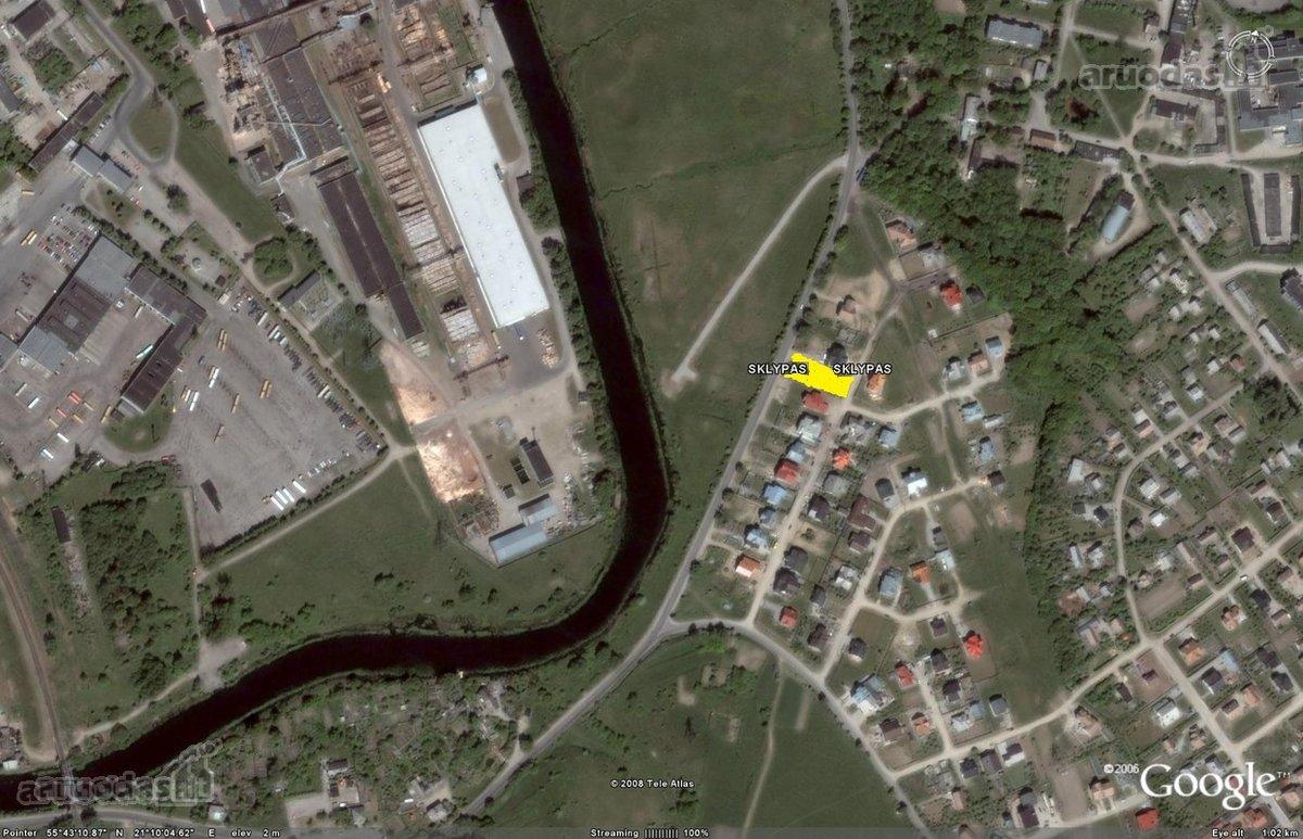 Klaipėda, Paupiai, Šienpjovių g., daugiabučių statybos paskirties sklypas