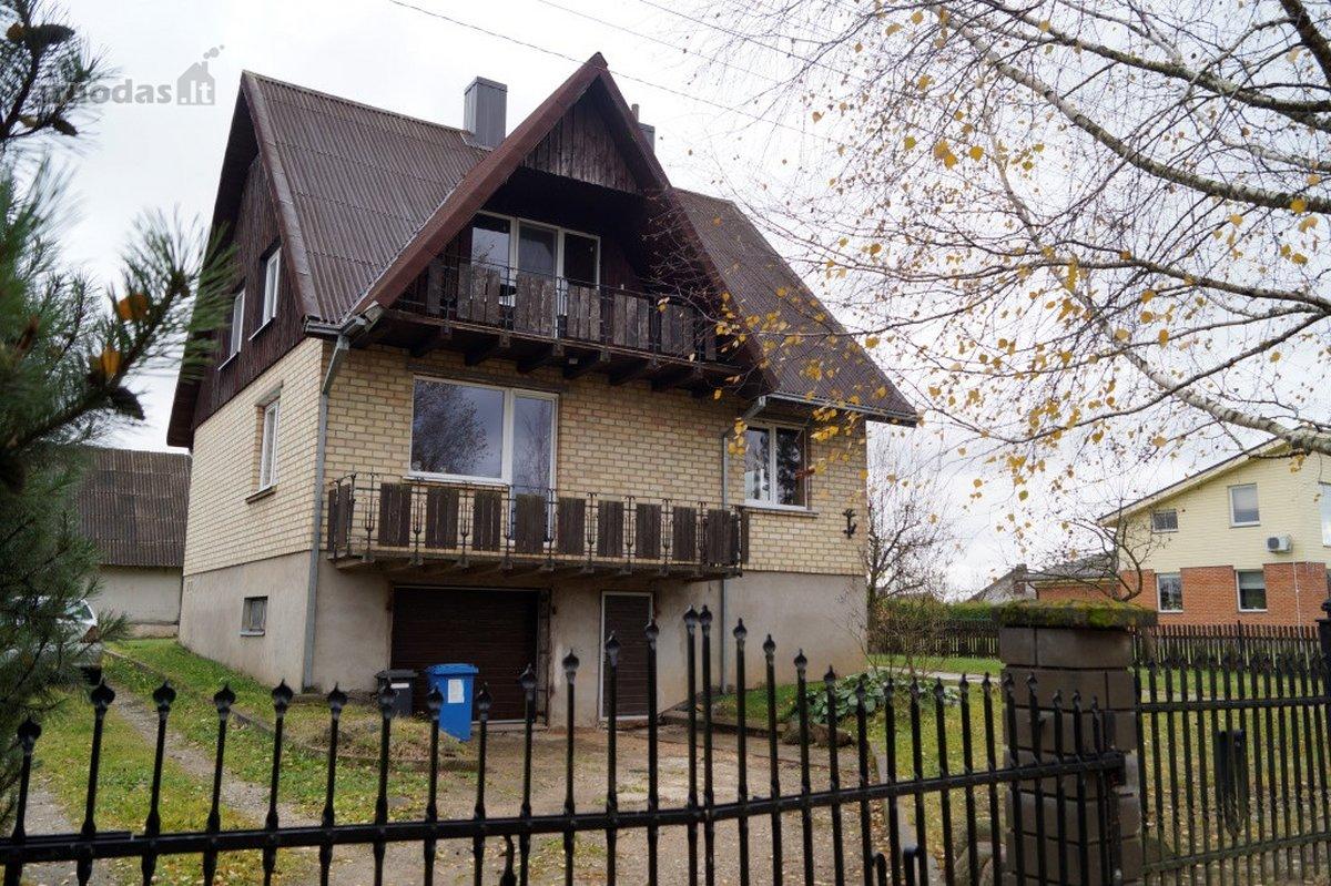 Kaišiadorių m., Klevų g., mūrinis namas