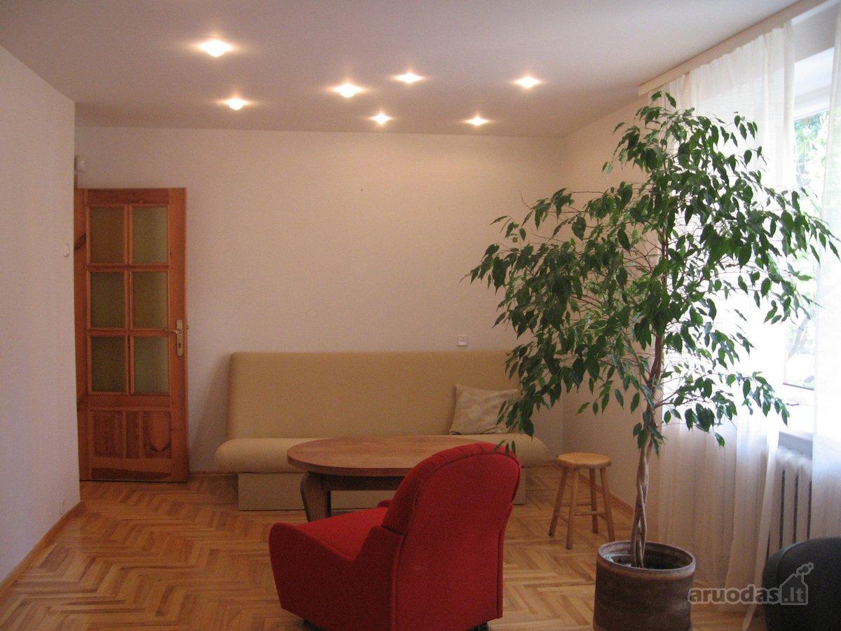 Vilnius, Užupis, Krivių g., 2 kambarių buto nuoma
