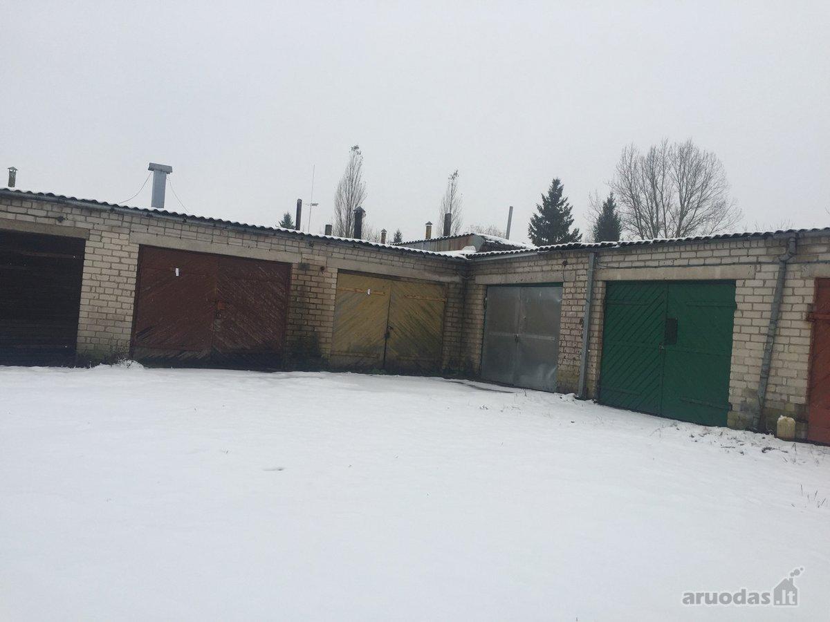 Šilalės m., Žemaitės g., mūrinis garažas