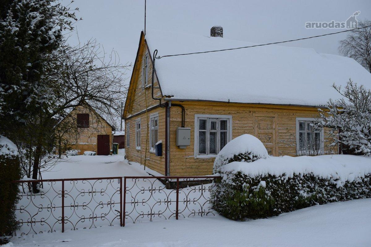 Šiaulių r. sav., Kuršėnų m., Durpynų g., medinis namas
