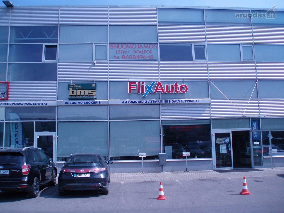 Vilnius, Šiaurės miestelis, J. Kubiliaus g., biuro, prekybinės paskirties patalpos nuomai