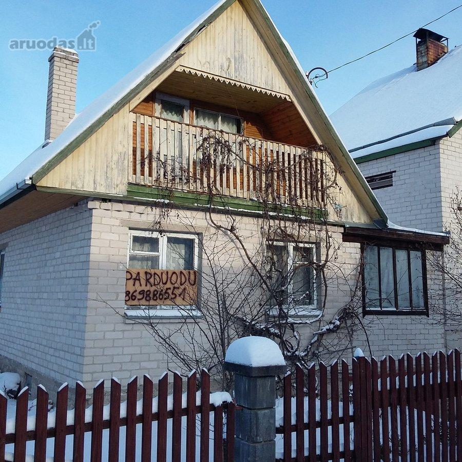 Vilniaus r. sav., Terešiškių k., Galinės Sodų 11-oji g., mūrinis sodo namas