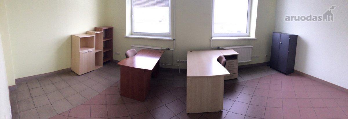 Šnuomojamos administracinės paskirties biuro