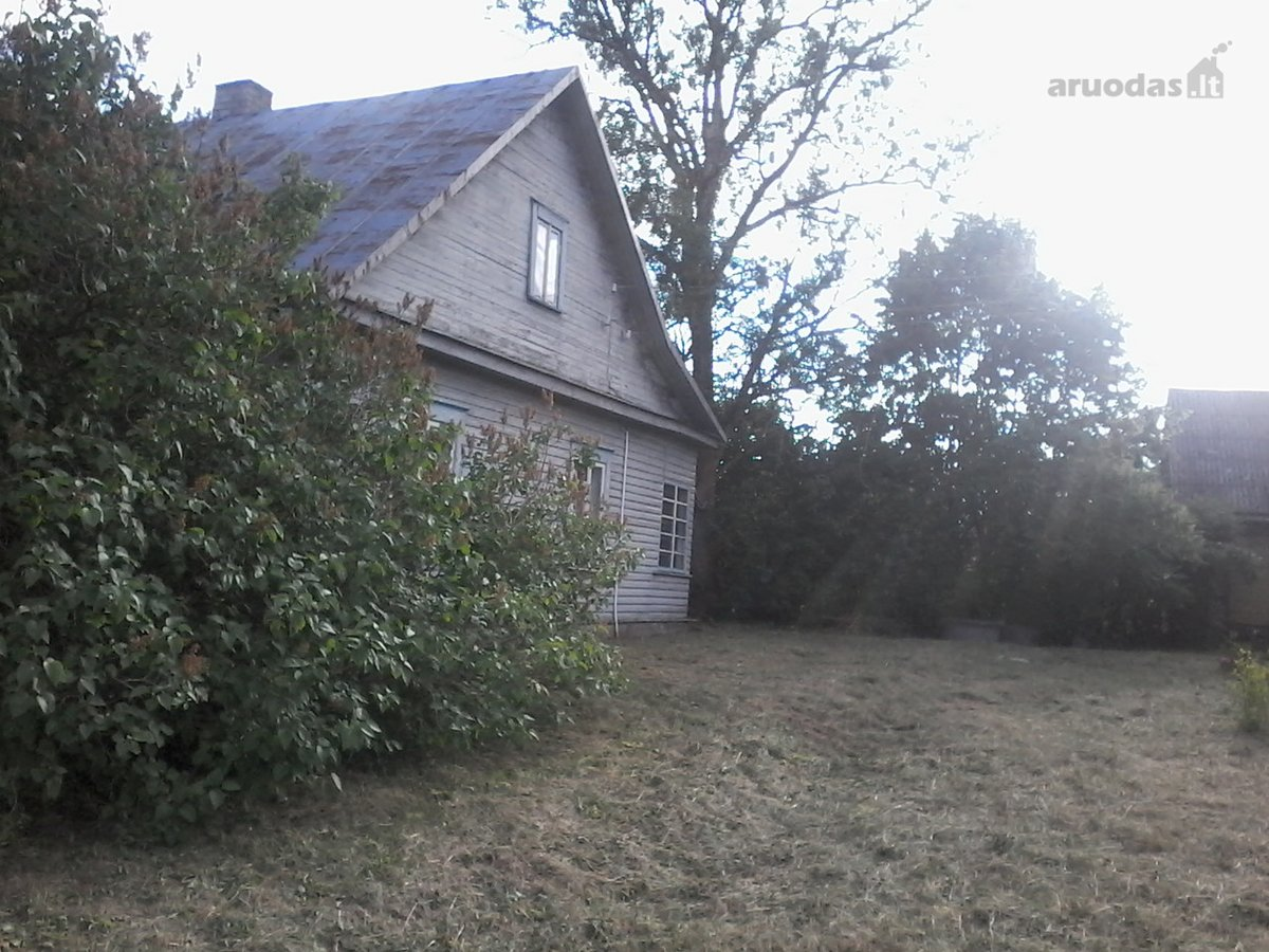 Ukmergės m., Gedimino g., medinis namas