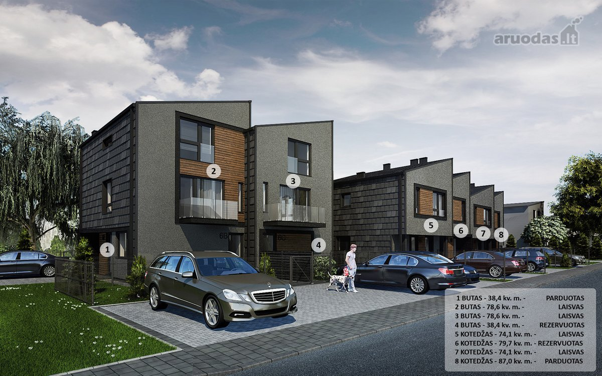 Kaunas, Šilainiai, Mosėdžio g., 4 kambarių butas