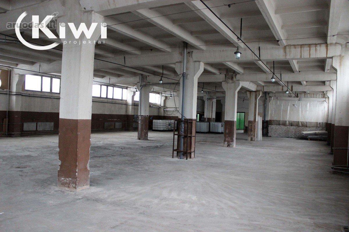 Vilnius, Vilkpėdė, Zietelos g., sandėliavimo, gamybinės paskirties patalpos nuomai