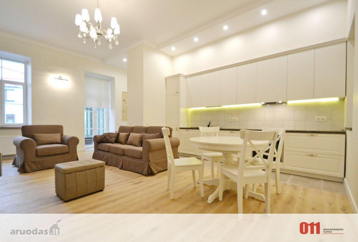 Vilnius, Senamiestis, A. Strazdelio g., 3 kambarių buto nuoma