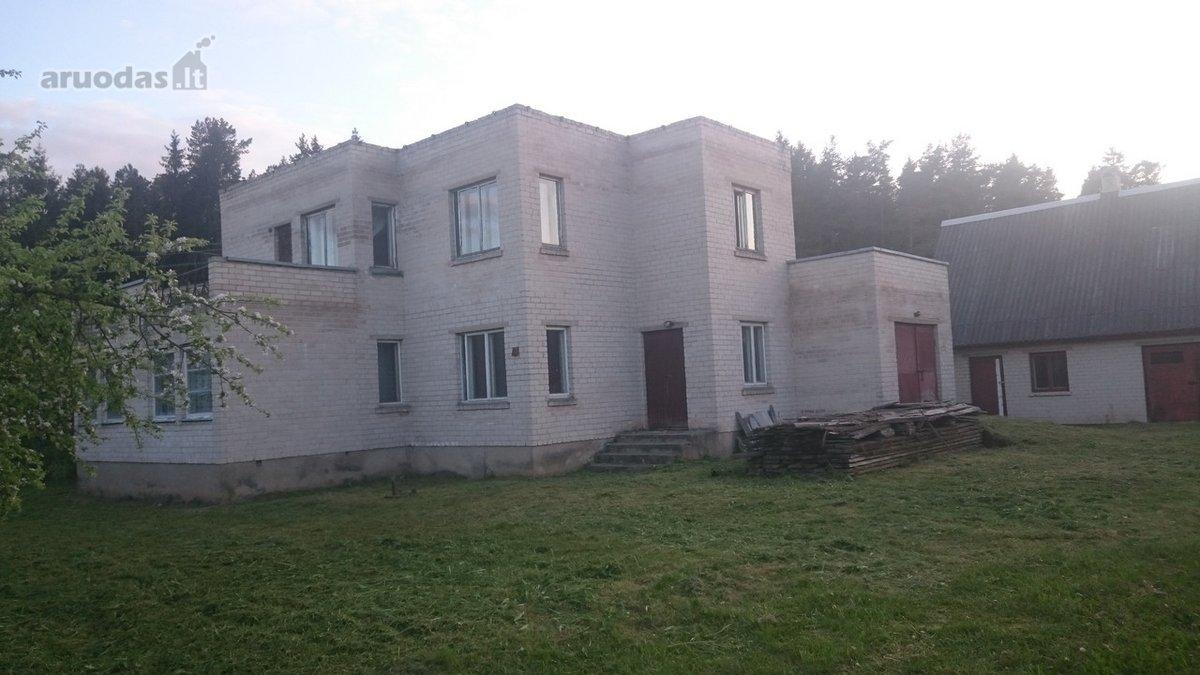 Švenčionių r. sav., Pabradės m., Miškininkų g., mūrinis namas