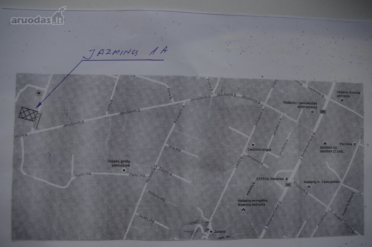 Kėdainių m., Jazminų g., земля жилого фонда назначения участок