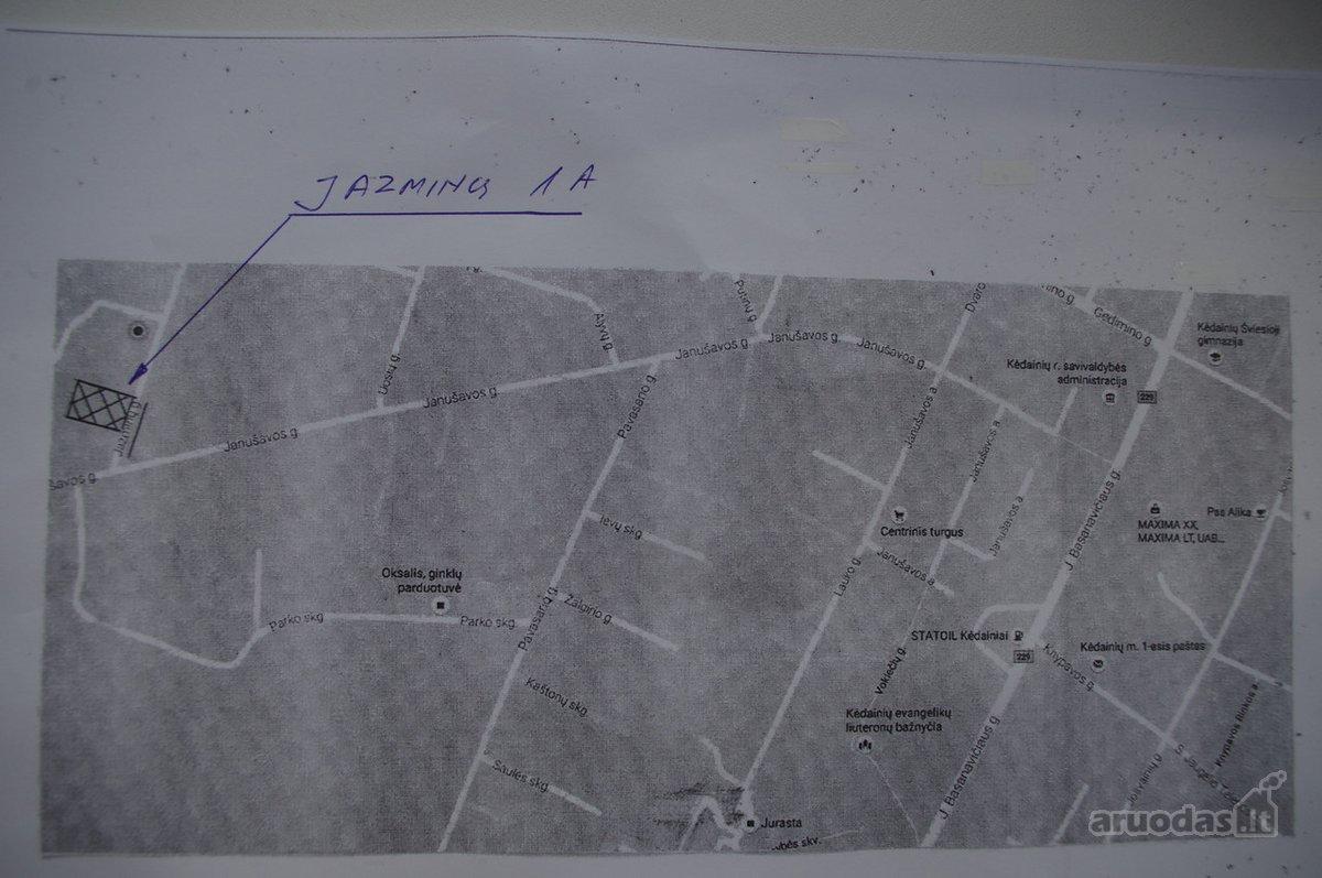 Kėdainių m., Jazminų g., namų valdos paskirties sklypas